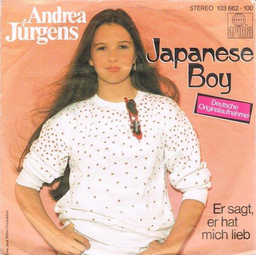 Andrea Jürgens - Japanese Boy (Deutsche Originalaufname